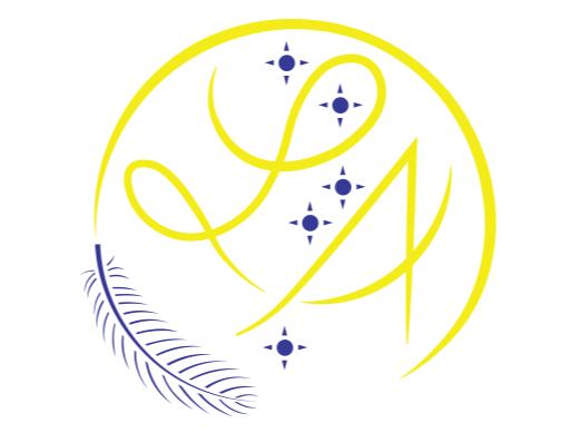 Logo de lindsay amorison en couleur